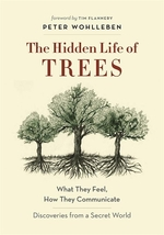 Book cover of HIDDEN LIFE OF TREES