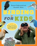 Book cover of BIRDING FOR KIDS