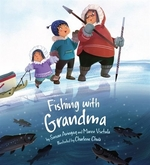 Book cover of FISHING WITH GRANDMA