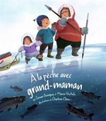 Book cover of LA PECHE AVEC GRAND-MAMAN