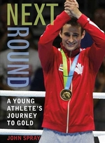 Book cover of NEXT ROUND A YOUNG ATHLETE'S JOURNEY TO