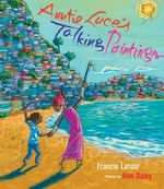 Book cover of AUNTIE LUCE'S TALKING PAINTINGS