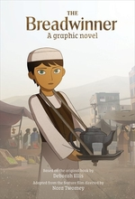 Book cover of BREADWINNER THE GRAPHIC NOVEL