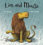 Book cover of LION & MOUSE