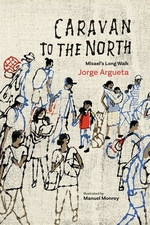 Book cover of CARAVAN TO THE NORTH