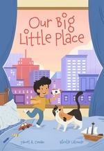 Book cover of OUR BIG LITTLE PLACE