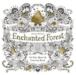 Book cover of ENCHANTED FOREST AN INKY QUEST & COLOURI