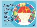 Book cover of ARE YOU A BOY OR ARE YOU A GIRL