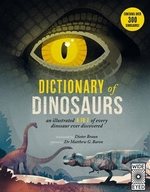 Book cover of DICT OF DINOSAURS