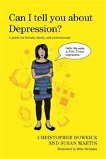 Book cover of CAN I TELL YOU ABOUT DEPRESSION