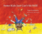 Book cover of SOME KIDS JUST CAN'T SIT STILL