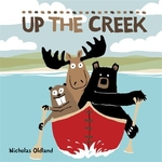 Book cover of UP THE CREEK