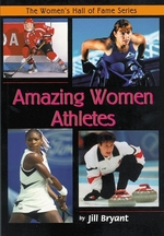 Book cover of AMAZING WOMEN ATHLETES