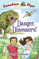 Book cover of CFA 02 DANGER DINOSAURS
