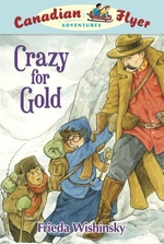 Book cover of CFA 03 CRAZY FOR GOLD