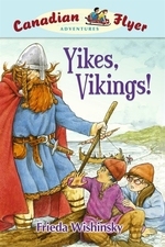 Book cover of CFA 04 YIKES VIKINGS