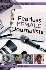 Book cover of FEARLESS FEMALE JOURNALISTS