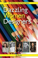 Book cover of DAZZLING WOMEN DESIGNERS