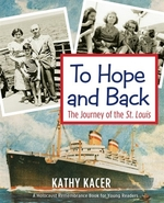 Book cover of TO HOPE & BACK - JOURNEY OF THE ST LOUIS