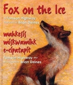 Book cover of FOX ON THE ICE