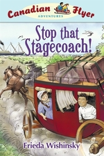 Book cover of CFA 13 STOP THAT STAGECOACH