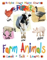 Book cover of 1ST FARM ANIMALS