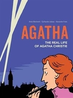 Book cover of AGATHA THE REAL LIFE OF AGATHA CHRISTIE