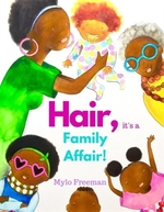 Book cover of HAIR - IT'S A FAMILY AFFAIR