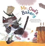 Book cover of MR OWL'S BAKERY COUNTING IN GROUPS