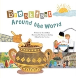 Book cover of BREAKFAST AROUND THE WORLD FRACTIONS