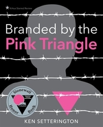 Book cover of BRANDED BY THE PINK TRIANGLE