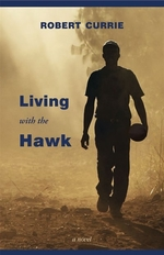 Book cover of LIVING WITH THE HAWK