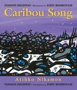 Book cover of CARIBOU SONG