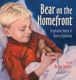 Book cover of BEAR ON THE HOMEFRONT
