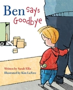 Book cover of BEN SAYS GOODBYE