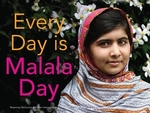 Book cover of EVERY DAY IS MALALA DAY