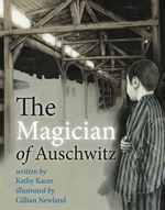Book cover of MAGICIAN OF AUSCHWITZ