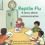 Book cover of REPTILE FLU