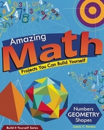 Book cover of AMAZING MATH PROJECTS YOU CAN BUILD YOUR