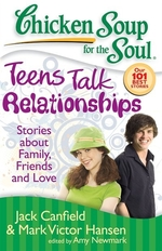 Book cover of CHICKEN SOUP TEENS TALK RELATIONSHIPS