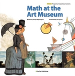 Book cover of MATH AT THE ART MUSEUM