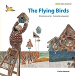 Book cover of FLYING BIRDS