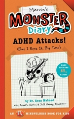 Book cover of MARVIN'S MONSTER DIARY - ADHD ATTACKS