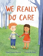 Book cover of WE REALLY DO CARE