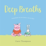 Book cover of DEEP BREATHS