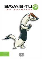 Book cover of SAVAIS-TU LES HERMINES EN COULEURS