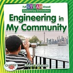 Book cover of ENGINEERING IN MY COMMUNITY