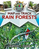 Book cover of MAP & TRACK RAIN FORESTS