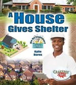 Book cover of HOUSE GIVES SHELTER