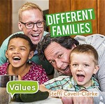 Book cover of DIFFERENT FAMILIES